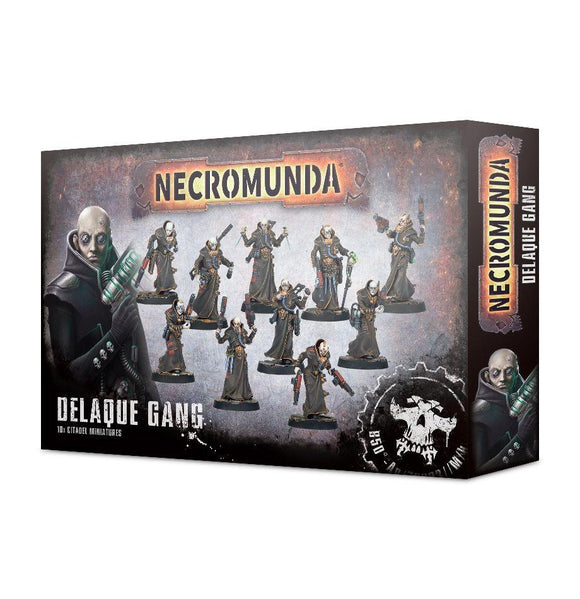 Necromunda: Delaque Gang Generic Games Workshop  (5026459320457)