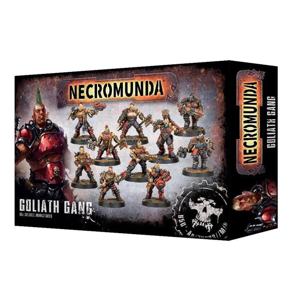 Necromunda Goliath Gang Generic Games Workshop  (5026459549833)