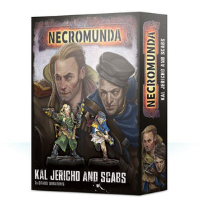 Necromunda Kal Jericho And Scabs Generic Games Workshop  (5026459222153)