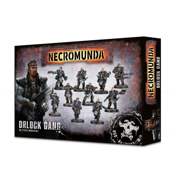 Necromunda Orlock Gang Generic Games Workshop  (5026459451529)
