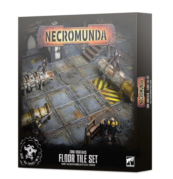 Necromunda:Zone Mortalis Floor Tile Set Generic Games Workshop  (5026458796169)
