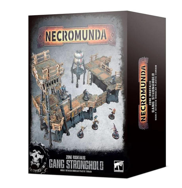 Necromunda:Zone Mortalis:Gang Stronghold Necromunda Games Workshop