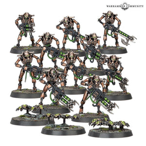 Necrons: Necron Warriors Necrons Games Workshop