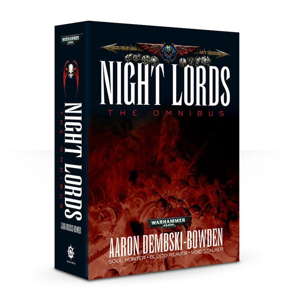 Night Lords: The Omnibus (Pb) Warhammer 40000 Games Workshop  (5026439561353)