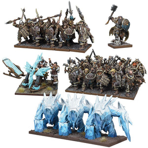Northern Alliance Army Kings of War Mantic Games  (5026525642889)