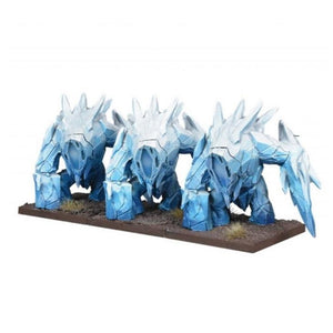Northern Alliance Ice Elemental Regiment Kings of War Mantic Games  (5026525184137)