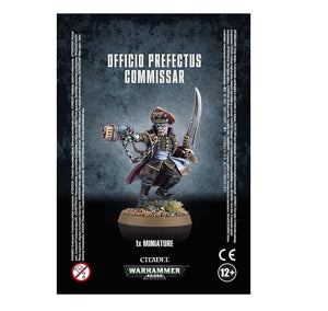 Officio Prefectus Commissar Warhammer 40000 Games Workshop  (5026450964617)