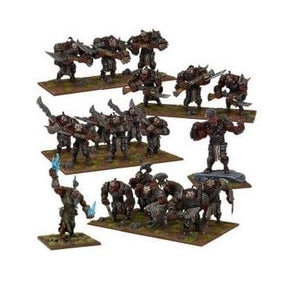 Ogre Army Kings of War Mantic Games  (5026527117449)