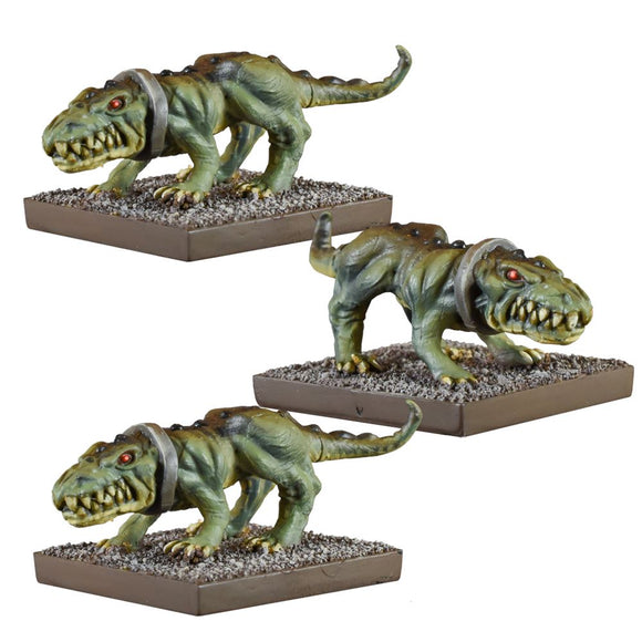 Ogre Crocodogs Ogre Mantic Games