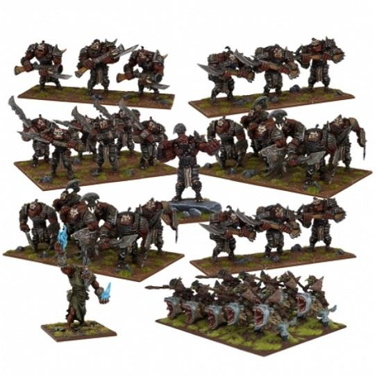Ogre Mega Army Kings of War Mantic Games  (5026728116361)