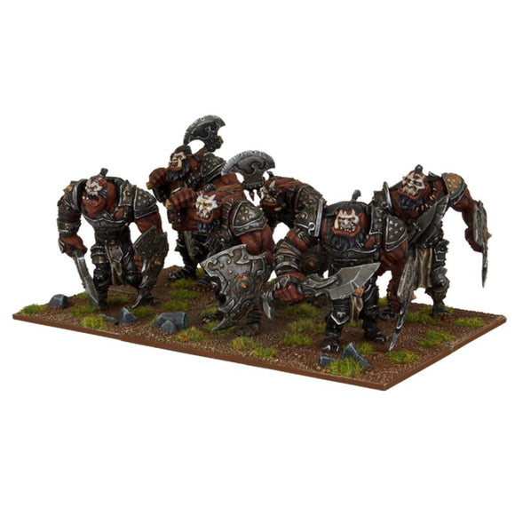 Ogre Warriors Kings of War Mantic Games  (5026527084681)