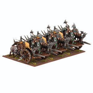 Orc Fight Wagon Regiment Kings of War Mantic Games  (5026523709577)