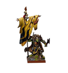 Orc Flagger Kings of War Mantic Games  (5026522792073)