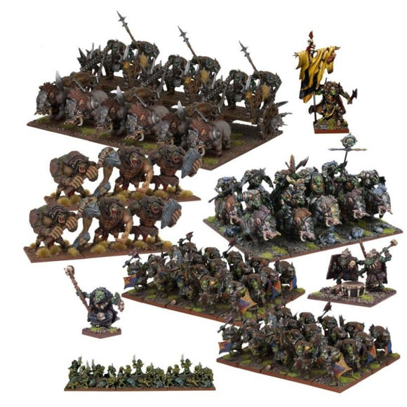 Orc Mega Army Kings of War Mantic Games  (5026523611273)