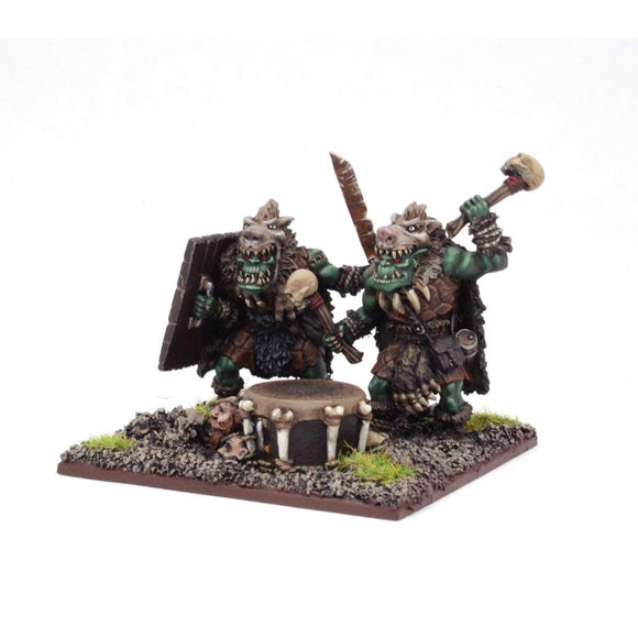 Orc War Drum Kings of War Mantic Games  (5026523906185)