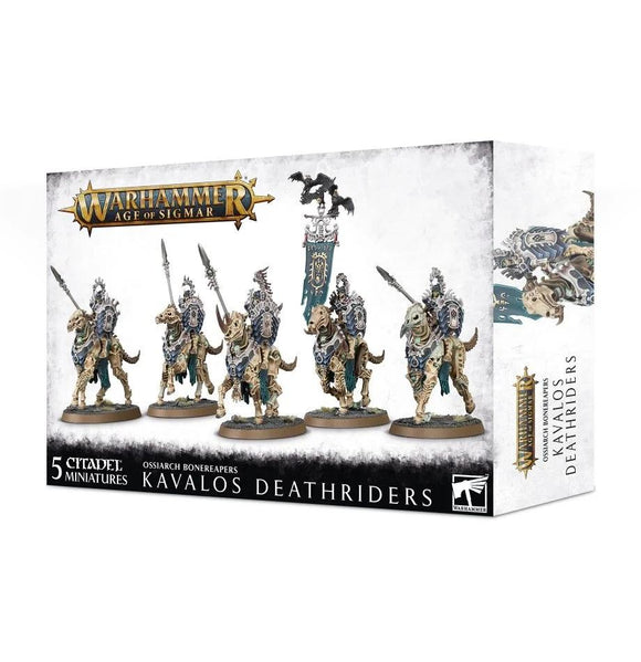 Ossiarch Bonereapers Kavalos Deathriders Warhammer Games Workshop  (5026471051401)