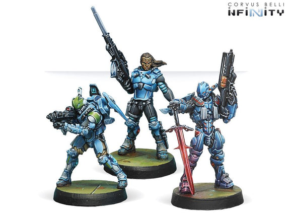 PanOceania Booster Pack Alpha Panoceania Corvus Belli