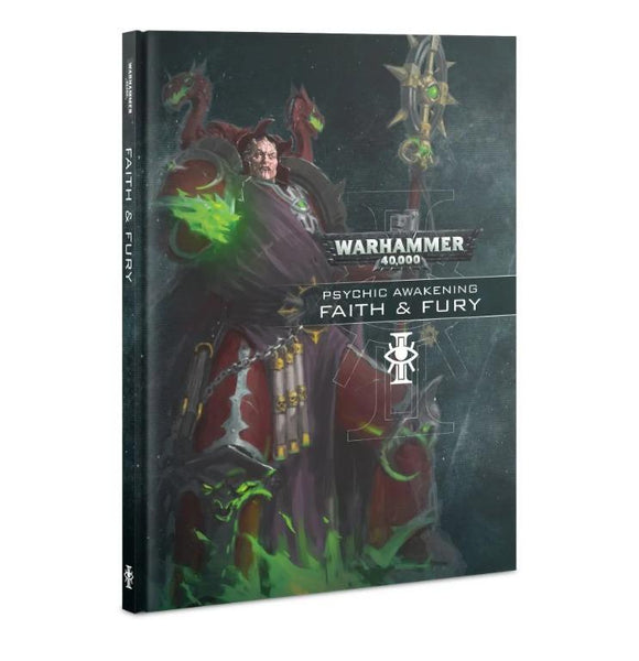 Psychic Awakening: Faith & Fury Warhammer 40000 Games Workshop  (5026684469385)