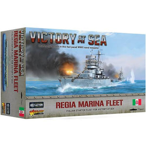 Regia Marina fleet box Victory at Sea Warlord Games
