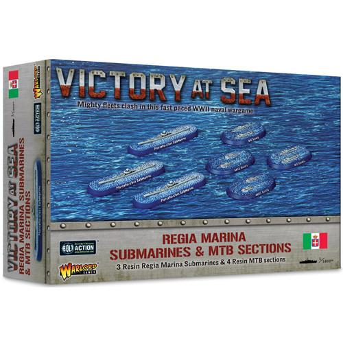 Regia Marina Submarines & MTB Sections Victory at Sea Warlord Games