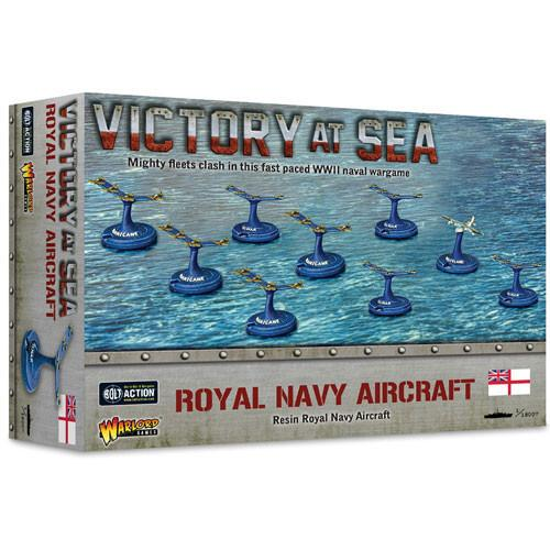 Royal Navy Aircraft Victory at Sea Warlord Games