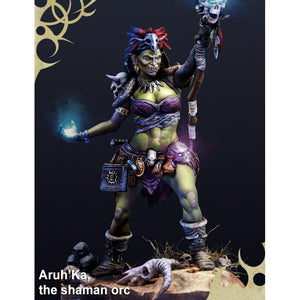 Scale 75 Aru´Ka, The Shaman Orc 75mm Figure Scale75