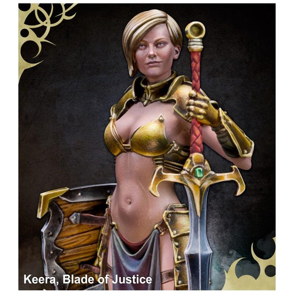 Scale 75 Keera, Blade Of Justice 75mm Figure Scale75