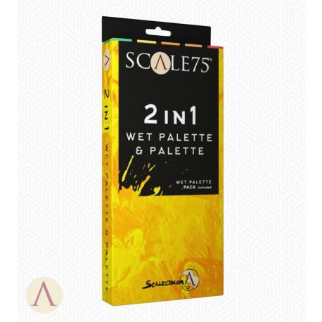 Scale75 2in1 Wet Palette & Palette Auxiliary Scale75