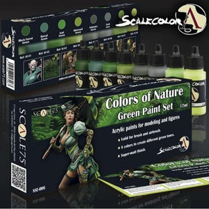 Scale75 Colors Of Nature Paint Set Scalecolour Scale75  (5026532950153)