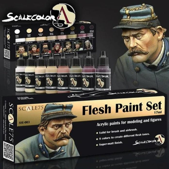Scale75 Flesh Paint Set Scalecolour Scale75  (5026533081225)