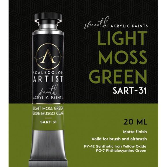 Scale75 Light Moss Green Artistcolour Scale75