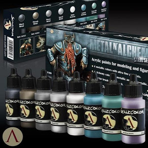 Scale75 Metal And Alchemy Steel Paint Set Scalecolour Scale75  (5026532688009)