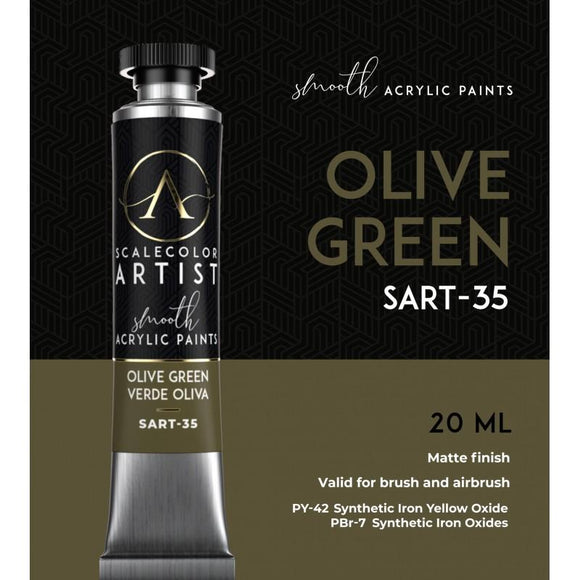 Scale75 Olive Green Artistcolour Scale75