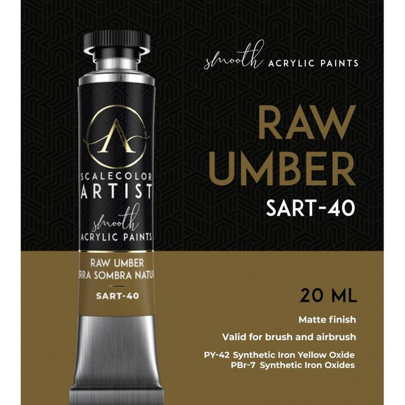 Scale75 Raw Umber Artistcolour Scale75