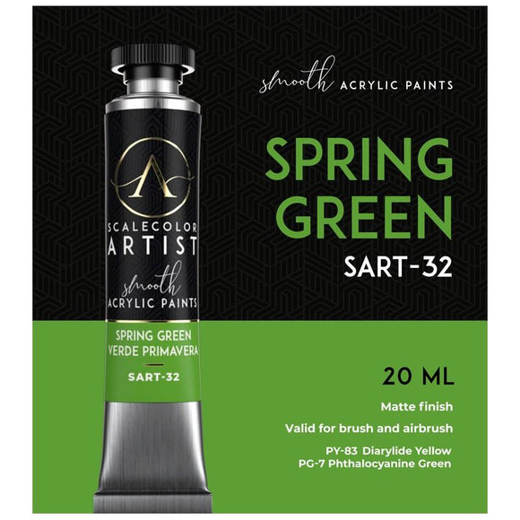 Scale75 Spring Green Artistcolour Scale75
