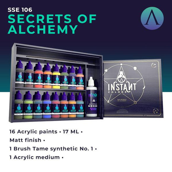 Scale75 The Secrets Of Alchemy (Wooden Box) Instant Color Scale75