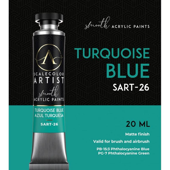 Scale75 Turquoise Blue Artistcolour Scale75