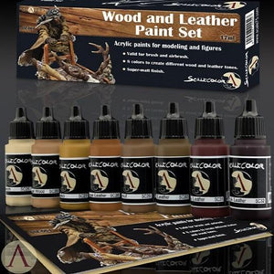 Scale75 Wood And Leather Paint Set Scalecolour Scale75  (5026732802185)