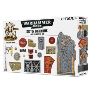 Sector Imperialis: Large Base Detail Kit Warhammer 40000 Games Workshop  (5026690334857)