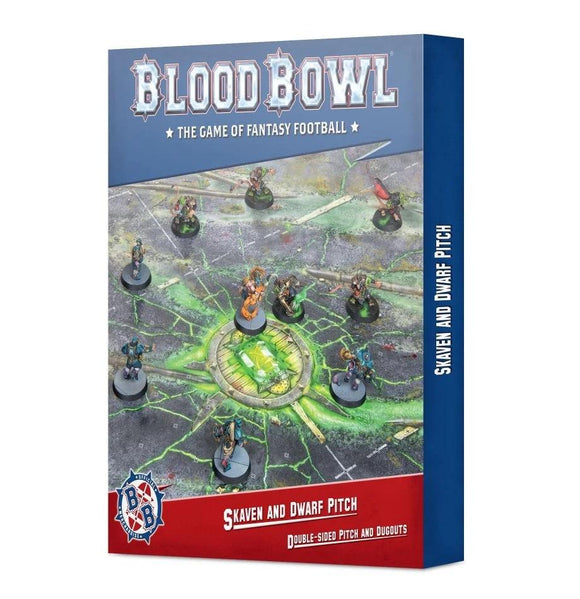 Skaven & Dwarf Pitch Blood Bowl Games Workshop
