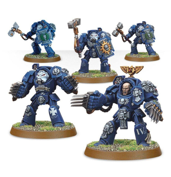 S/Marine Terminator Close Combat Squad Warhammer 40000 Games Workshop  (5026450014345)