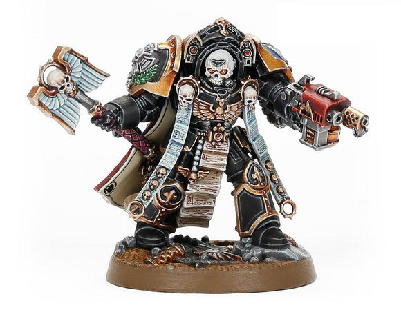 S/Marines: Terminator Chaplain Tarentus Space Marines Games Workshop
