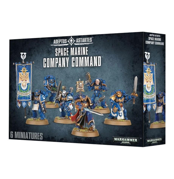 Space Marine Company Command Warhammer 40000 Games Workshop  (5026449817737)