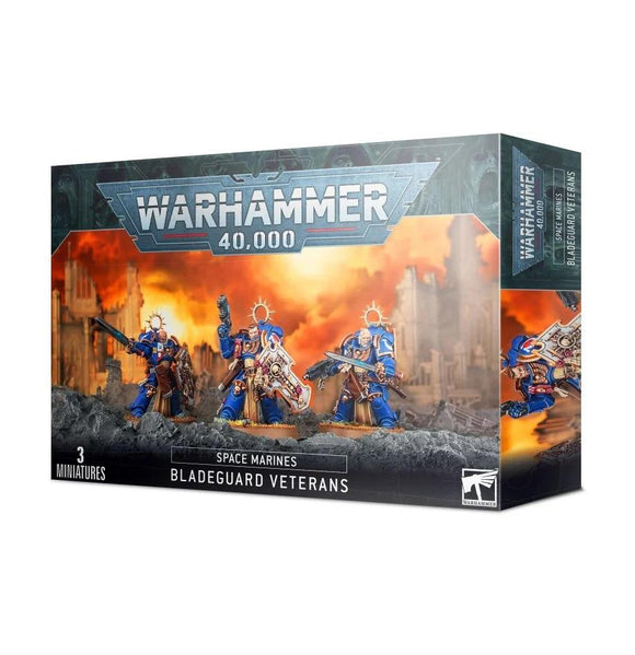Space Marines Bladeguard Veterans Space Marines Games Workshop
