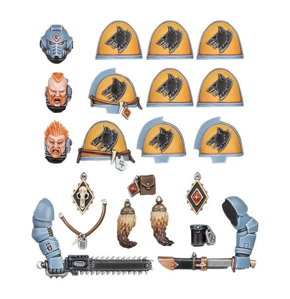 Space Wolves Upgrades Space Marines Games Workshop