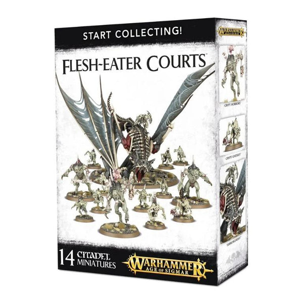 Start Collecting! Flesh-Eater Courts Warhammer Games Workshop  (5026478915721)