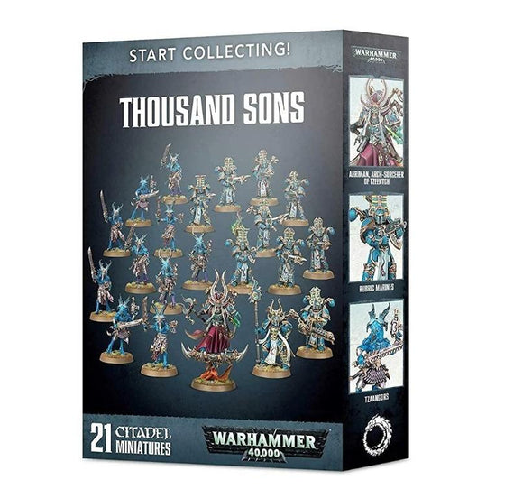 Start Collecting! Thousand Sons Warhammer 40000 Games Workshop  (5026425536649)