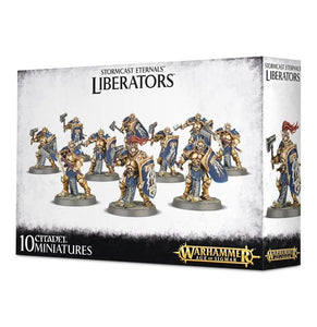 Stormcast Eternals Liberators Warhammer Games Workshop  (5026470527113)