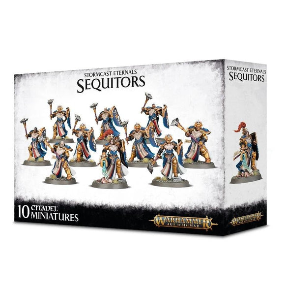 Stormcast Eternals Sequitors Warhammer Games Workshop  (5026469806217)