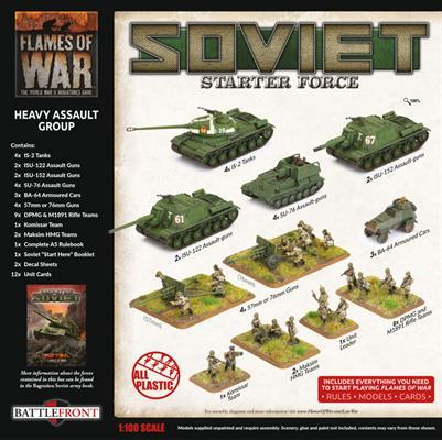 SUAB13 Soviet 'Heavy Assault Group' Army Deal Soviet Battlefront